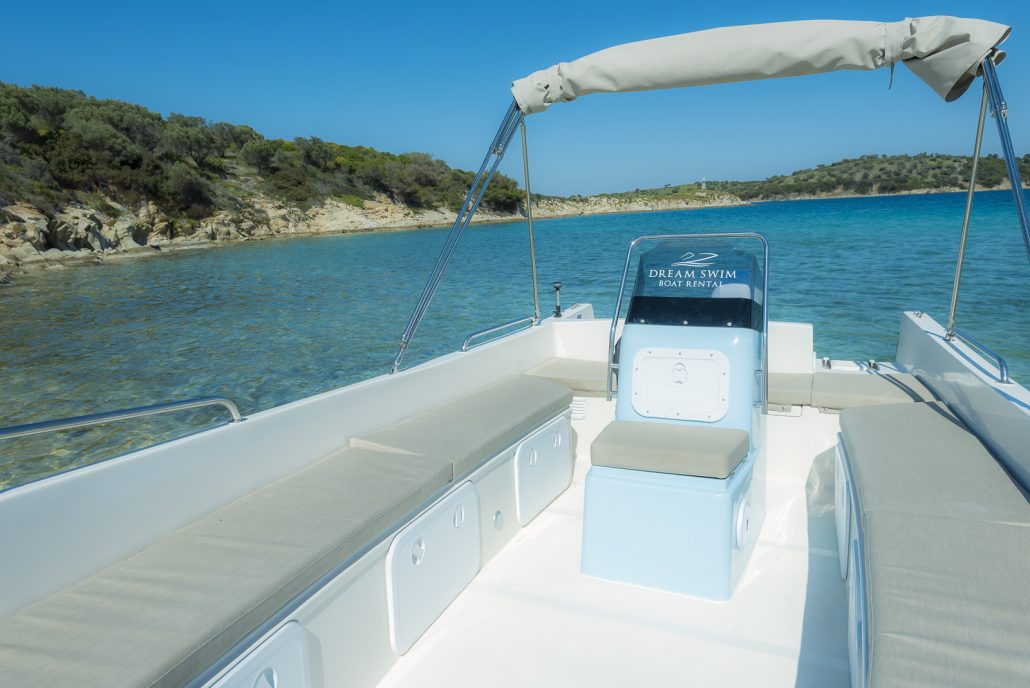 Dream Swim boat rental Chalkidiki - Poseidon 6.20