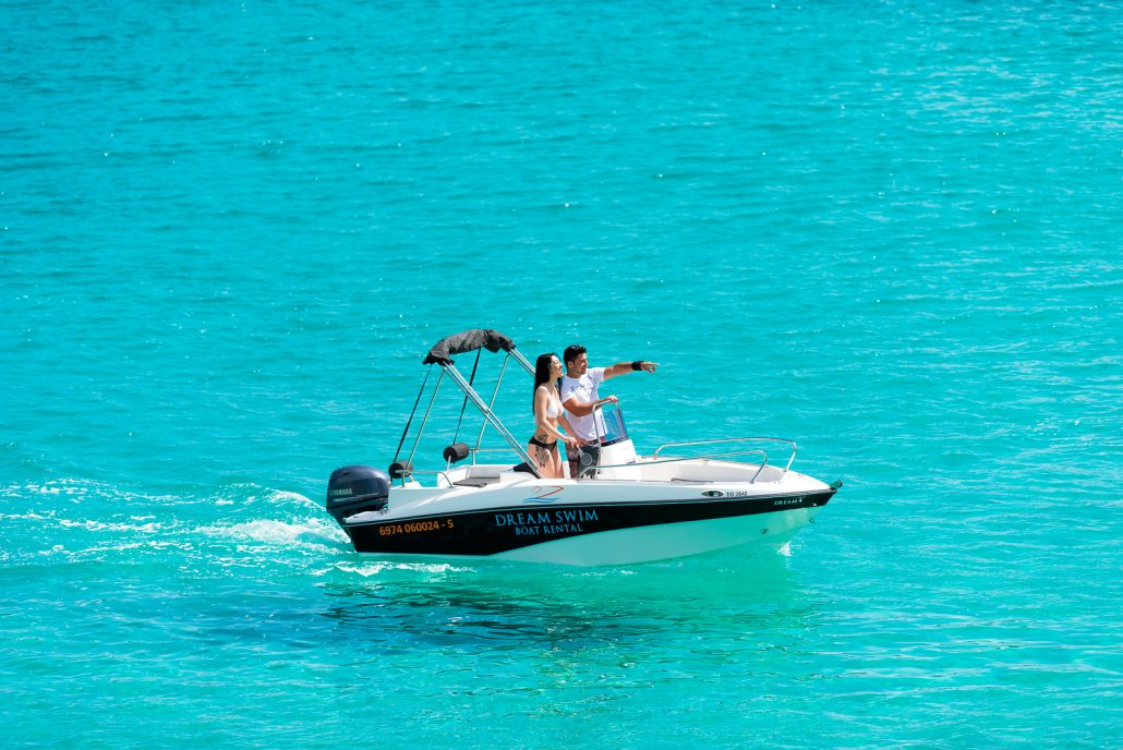 Dream Swim boat rental - Compass 150cc