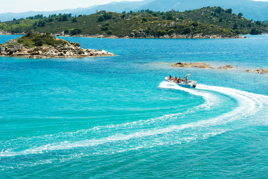 Dream Swim rent a boat Halkidiki- Poseidon 6.50