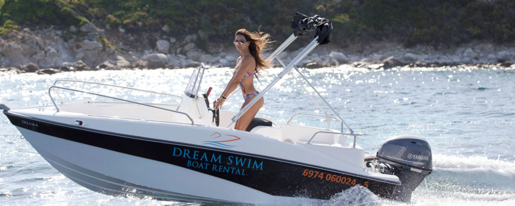 Rent a boat Vourvourou Dream Swim