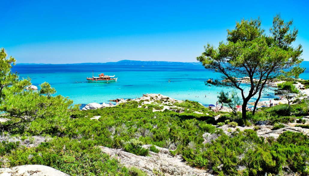 Kavourotrypes - Chalkidiki Beaches