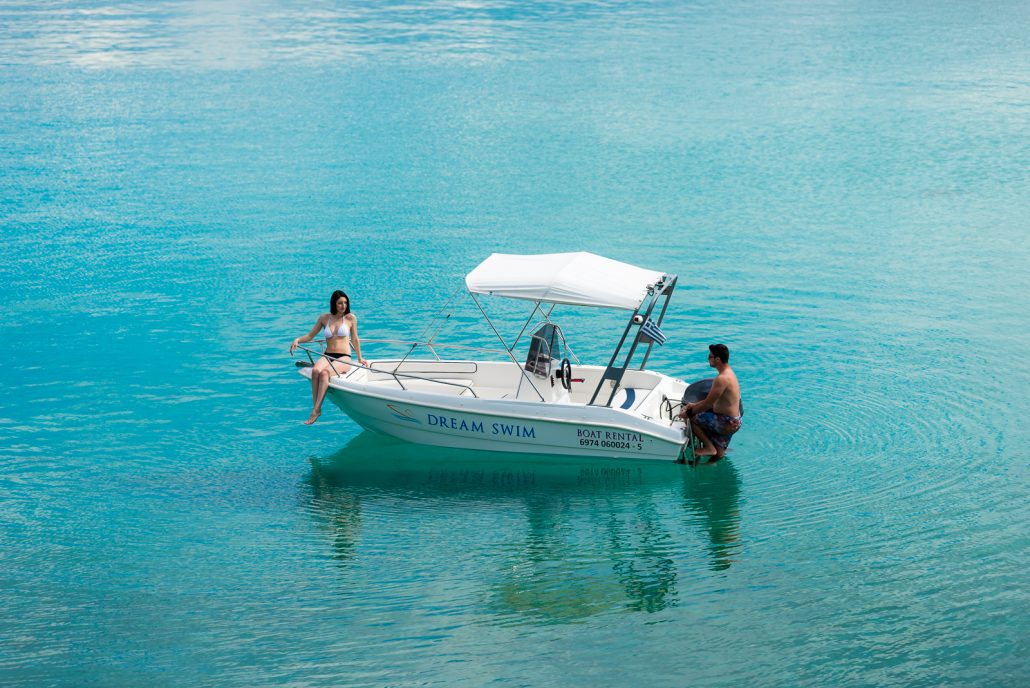 Dream Swim boat rental - Gs Nautica 4.70