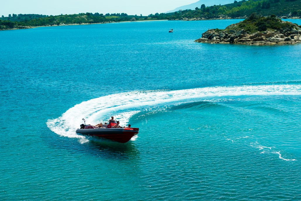 Dream Swim boat rental Chalkidiki - Skipper 8.50