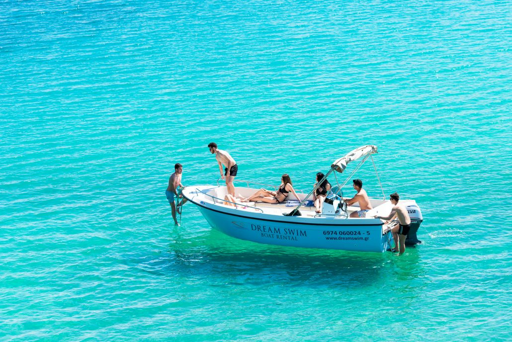 Dream Swim rent a boat Chalkidiki- Poseidon 6.50