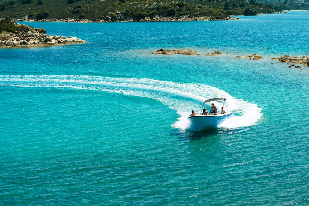 Dream Swim rent a boat Sithonia- Poseidon 6.50