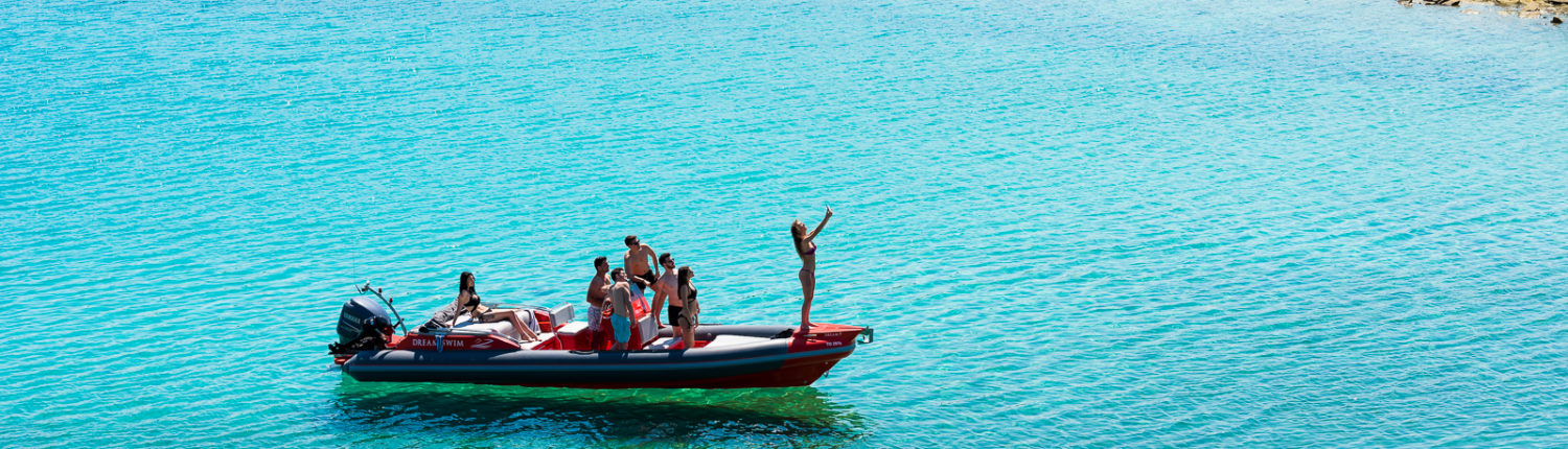 Dream Swim rent a boat Halkidiki- Skipper 8.50