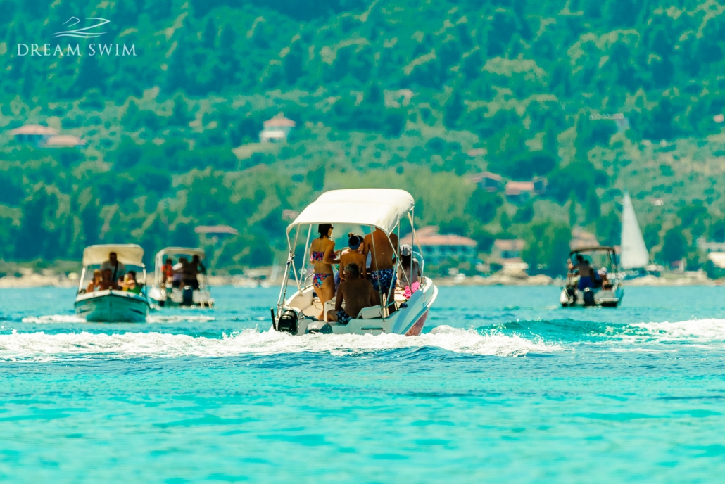 Blue Lagoon - one of Blue Lagoon the best chalkidiki beaches to visit by boat