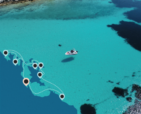 Day cruise to Vourvourou Islands with skipper