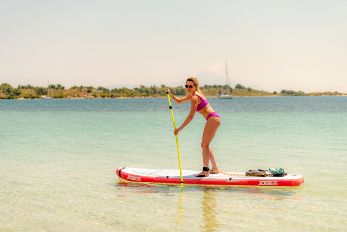 Stand Up Paddle - Diaporos SUP hire