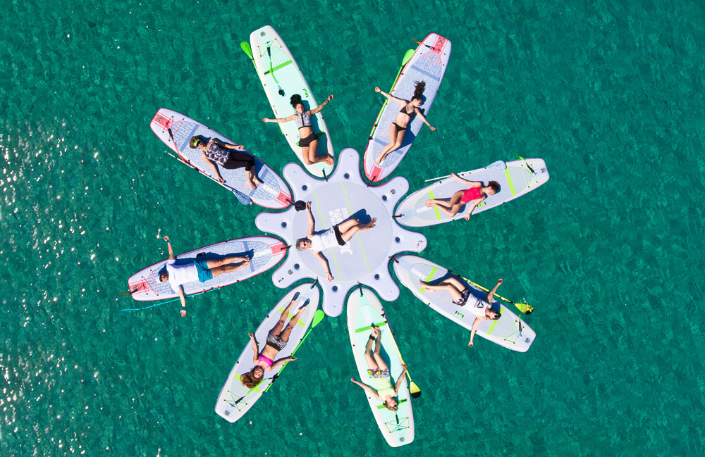 Stand Up Paddle - Diaporos SUP rent