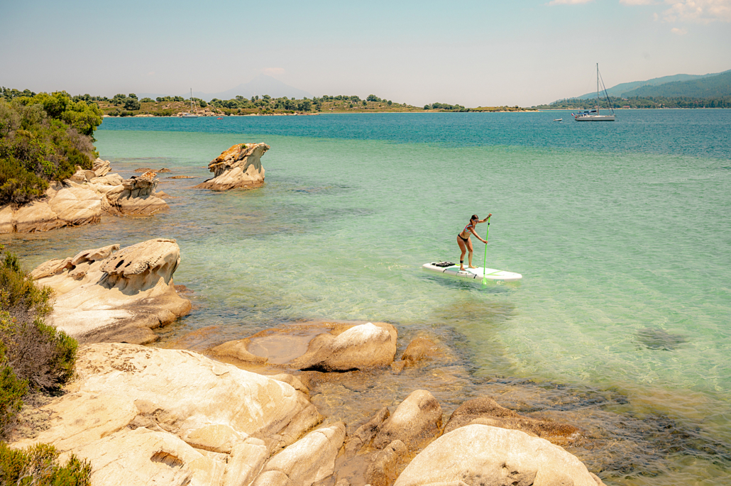 Stand Up Paddle - Sup rent Chalkidiki