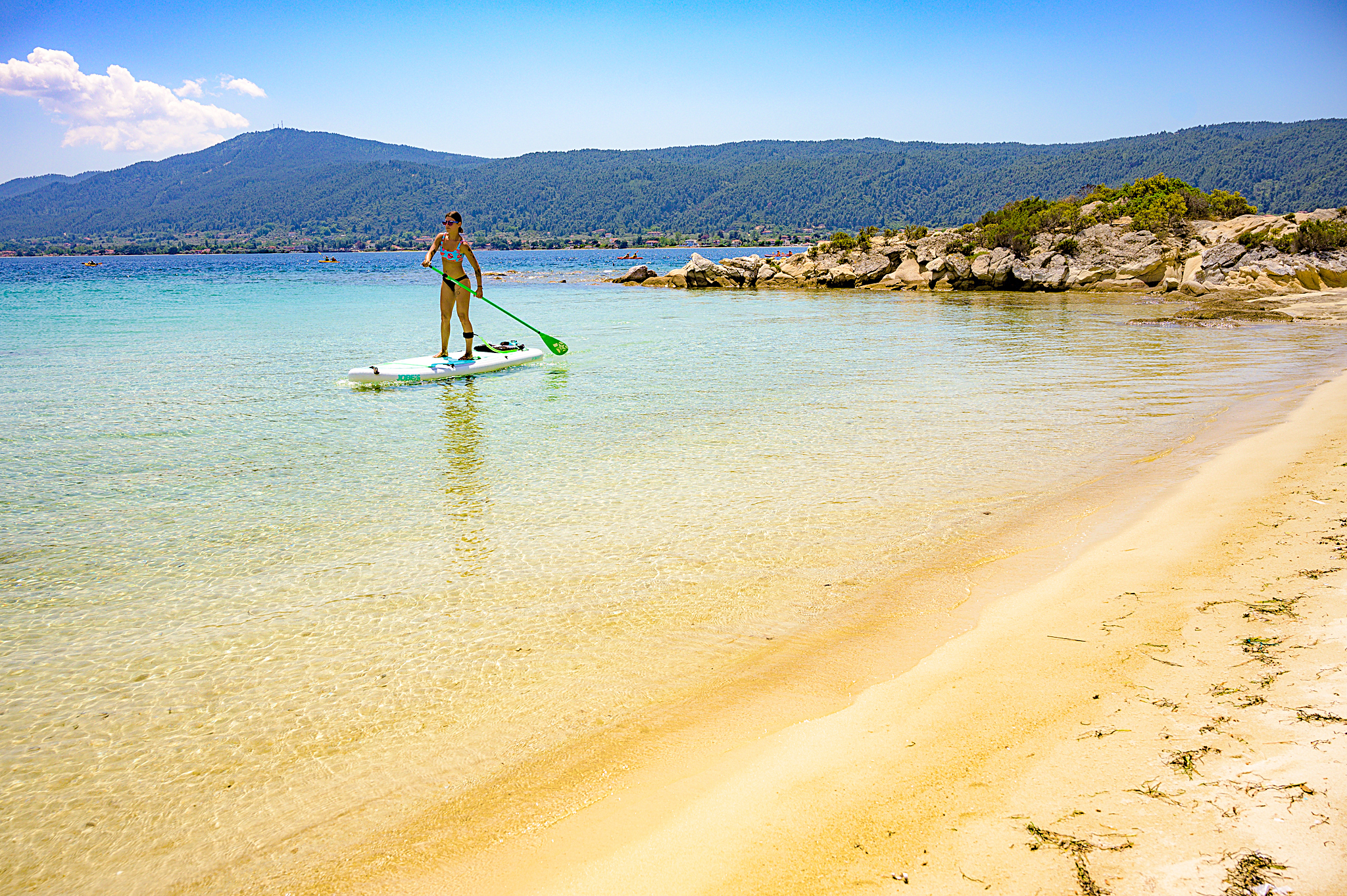 Stand Up Paddle - Sup rental Halkidiki