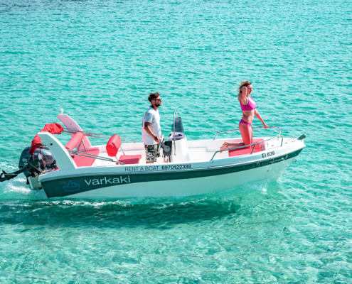 Dream Swim Boat Rental- Open Alexander 4.80 Vourvourou