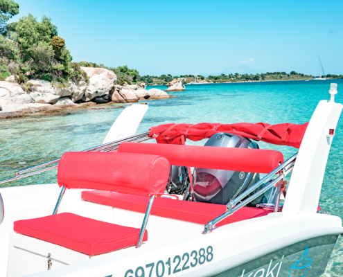 Dream Swim- InteriorOpen Alexander 4.80 Vourvourou Boat Rental