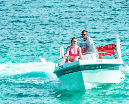 Dream Swim- Open Alexander 4.80 Vourvourou Boat Rental