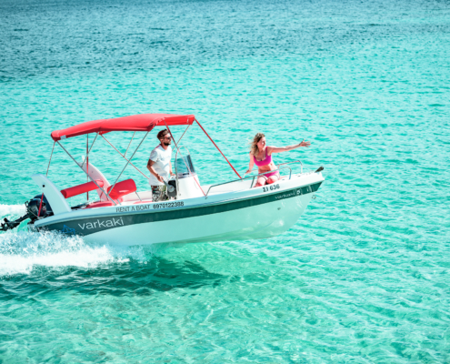Dream Swim- Open Alexander 4.80 Vourvourou hire Boat
