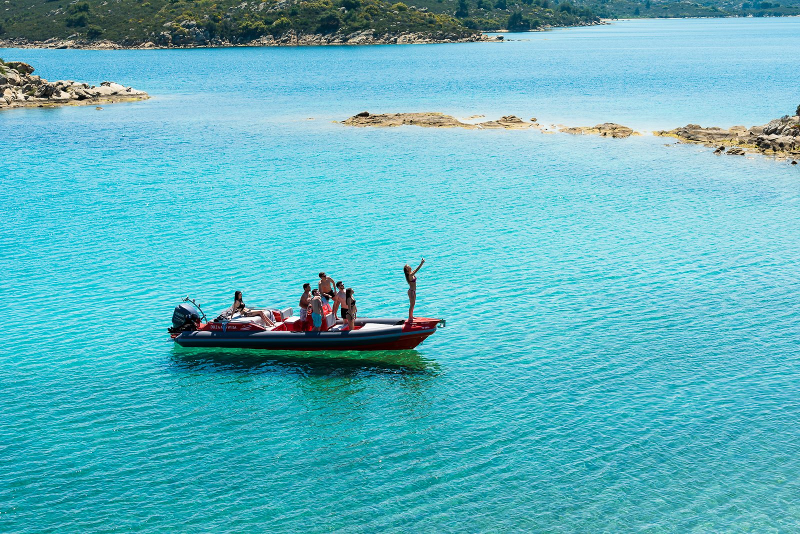 Dream-Swim- Boat Rental - Diaporos